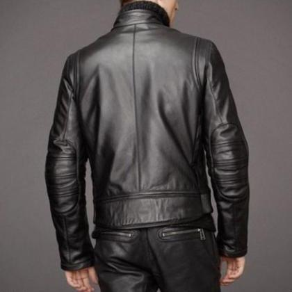 Leather Skin Men Black Authentic Co..