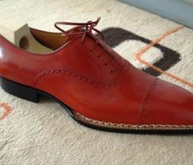 Handmade Men Red Col..