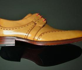 Men Tan Brogue Wingt..