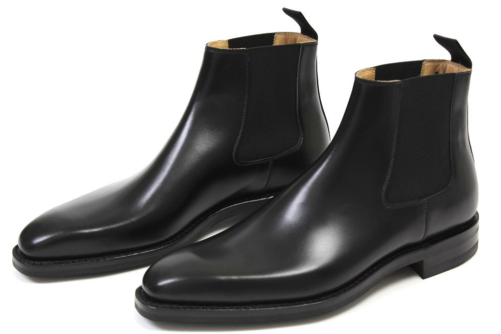 great quality 2018 shoes multiple colors Handmade Men Black Chelsea Boots,Men's Ankle Boot on Luulla