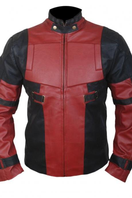 Leather Skin Real Biker Motorcycle Leather Jacket