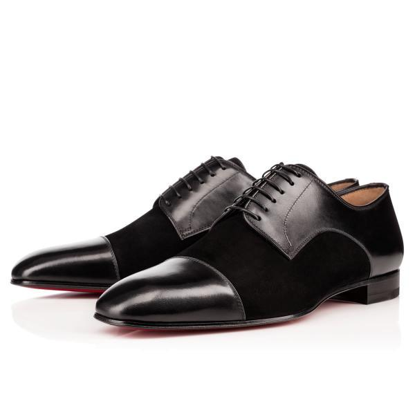Handmade Men black dress suede black shoes,Men's leather shoe